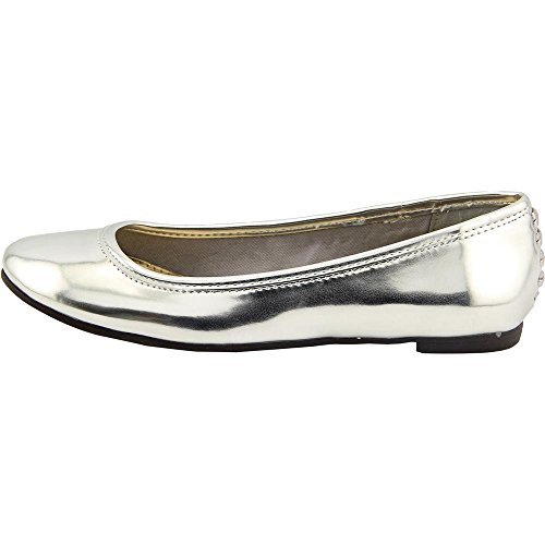 American Living Dolores Femmes Synthétique Chaussure Plate silver