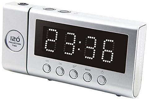 Soundmaster FUR6100SI Uhrenradio silber