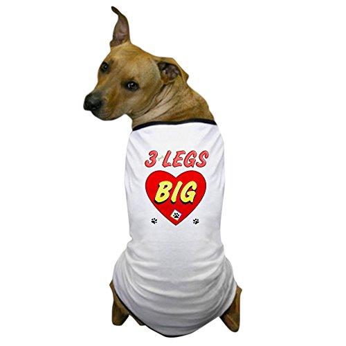 Beinen Hunde Drei Kostüm - CafePress-3SIE DIE BEINE Hund, Hunde-T-Shirt-Hund T-Shirt, Haustier Kleidung, Funny Hund Kostüm