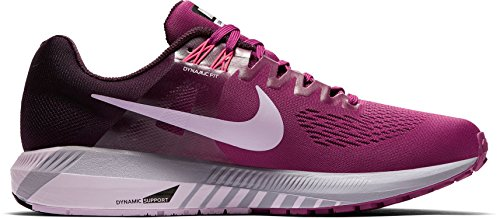 Nike Damen W Air Zoom Structure 21 Laufschuhe Beerenfarben (Tea Berry)
