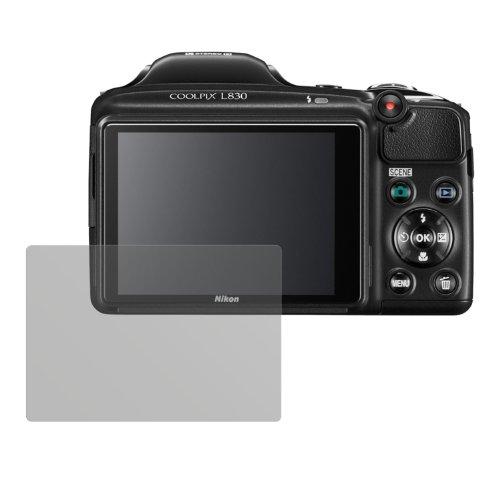 dipos I 6X Schutzfolie matt passend für Nikon Coolpix L830 Folie Displayschutzfolie
