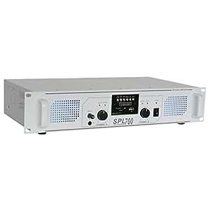 Skytec SPL 700MP3 2.0canaux Maison Avec fil Blanc amplificateur audio - amplificateurs audio (2.0 canaux, 0,5%, 95 dB, 350 W, 775 mV, 10000 Ohm)