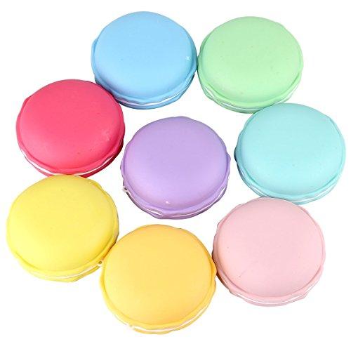 Swallowzy 8PCS Slime Macarons limo Crystal Mud Kit de arcilla de caucho de barro Plasticine liberación de presión de alivio de estrés Magic Plasticine Kid Juguetes