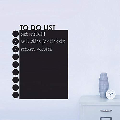 Zimmer To Do Liste Kreide Bord Tafel Aufkleber Abnehmbare Vinyl Ziehen Dekor Wandtattoo Kunst Tafel Wandaufkleber Für Kinderzimmer ()