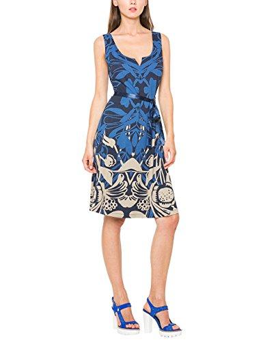 Desigual Damen A-Linie Kleid JASMINE, Knielang, Blau (NAVY 5000), Gr.XL(Herstellergröße: XXL)