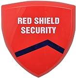 Red Shield WS-209 Drahtlose Außen-Sirene für Funk-Alarmanlage WS-100