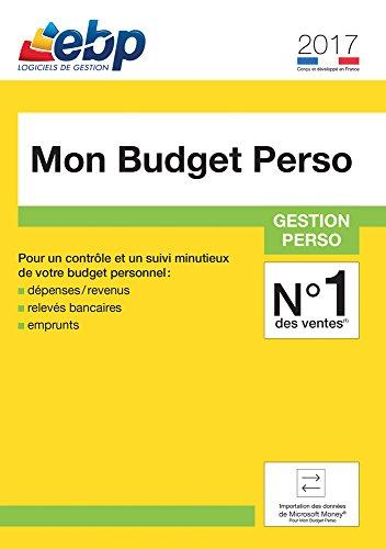EBP Mon Budget Perso 2017 [Téléchargement PC]