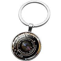 Schlüsselanhänger, Schlüsselanhänger, Schlüsselanhänger, Motiv: Cabochon aus Hartstein (XHYSK0048)