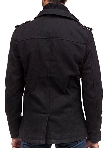 BOLF - Manteau classique – PPM 8853 - Homme Schwarz