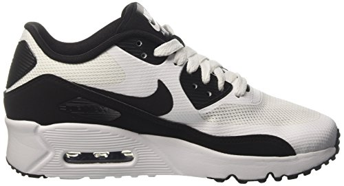 Nike Air Max 90 Ultra Ess 2.0 Gs, Sneakers Basses Mixte Enfant Blanc (White/Black-White)
