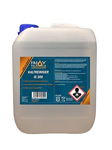 INOX® IX 300 Motor-Kaltreiniger, Reinigungsmittel-Konzentrat gegen Öle, Teer und Fette - 5 Liter