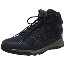 Jack Wolfskin Men's Maze Texapore Mid M Wasserdicht High Rise Hiking Shoes, (Dark Blue/Light Grey 1168), 6.5 UK