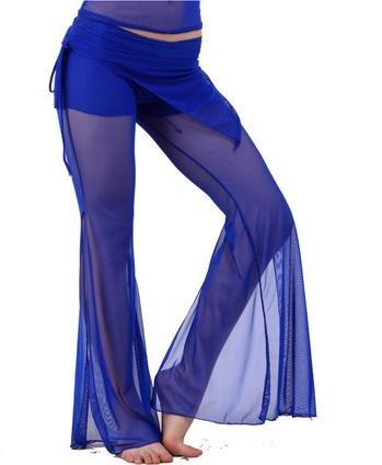 La signora pantaloni di ballo, danza del ventre , blue