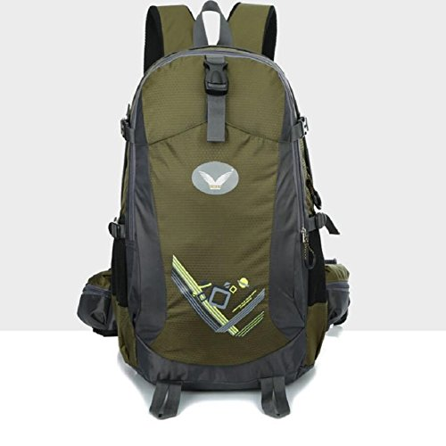 LF&F Backpack Neue Hochwertige Nylon Outdoor Travel Bergsteigen Rucksack Fitness Sport Radfahren Camping Party GepäCk Tasche Mehrzweck-Student Tasche B