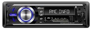 Takara RDU1610 Autoradio numérique MP3 USB/SD/AUX Noir