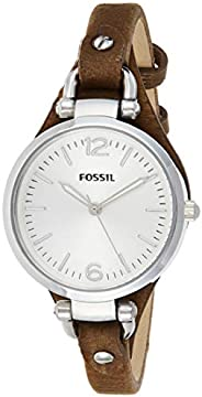 Fossil Georgia Mini Women's Dial Leather Band W