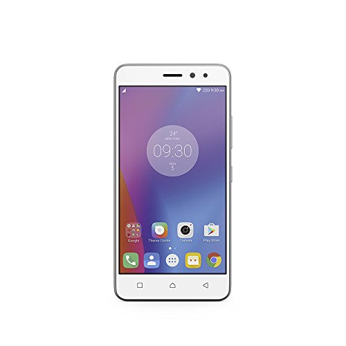 Lenovo K6 Smartphone (12,7 (5 Zoll), 16 GB, Android) silber