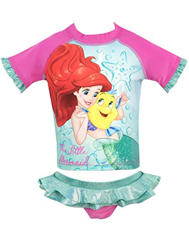 Disney Girls The Little Mermaid Swim Set Ages 12 Months to 8 Years