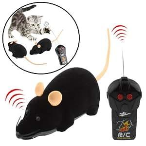 ferngesteuerte maus mit fernsteuerung ratte remote control rc maus schwarz spielzeug. Black Bedroom Furniture Sets. Home Design Ideas