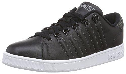 K-Swiss Lozan Iii, Baskets Basses Homme Noir (black/charcoal 006)
