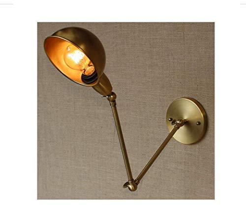 Ttr Swing Arm Leuchter Lampen Messing Wandlampe für Arbeitszimmer Badezimmer-Eitelkeit Lichter/Portalbeleuchtung -