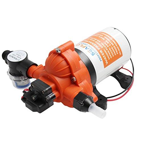FLAMEER 12V Frischwassermembran Selbstansaugpumpe Für Wohnmobile Verdrängerpumpe