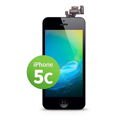 c LCD Touchscreen Retina Display Ersatz in Schwarz für Einfache Reparatur, FaceTime Kamera, 100% Kompatibel mit Apple (kein Set) ()