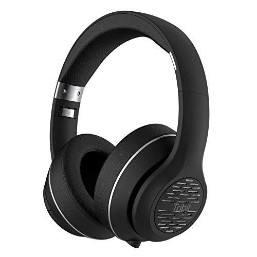 Cuffie Bluetooth, Tribit XFree Tune HiFi Cuffie wireless adatte all'orecchio con bassi profondi, 40 ore di riproduzione, 2X40mm driver, chip Bluetooth 4.1 CSR, supporto Aux da 3.5mm