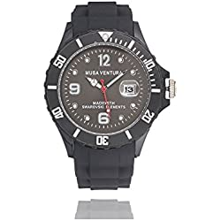 MUSAVENTURA Watch Analogue Display and Silicone Strap REF 156_192