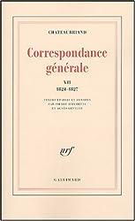 Correspondance générale (Tome 7-6 juin 1824 - 31 décembre 1827)