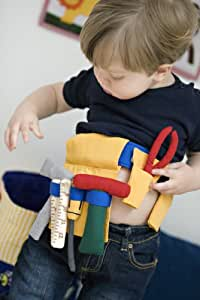 Oskar and Ellen Fabric Tool Belt