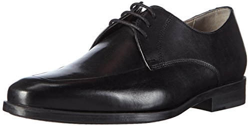 Clarks Amieson Lace, Derby homme Noir (Black Leather)