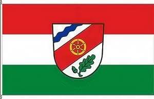 Königsbanner Hochformatflagge Sailauf - 150 x 400cm - Flagge und Fahne