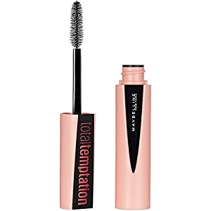 MAYBELLINE Total Temptation Washable Mascara - Blackest Black