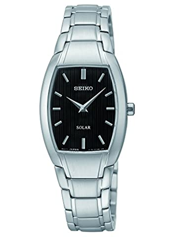 Seiko Damen sup259 Analog Display Armbanduhr Analog silber Quarz
