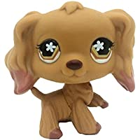 BZLine LPS Animales Mascota Gato Collie Collie Collie niños niñas Figura Juguete Lose Nette Perro RARA