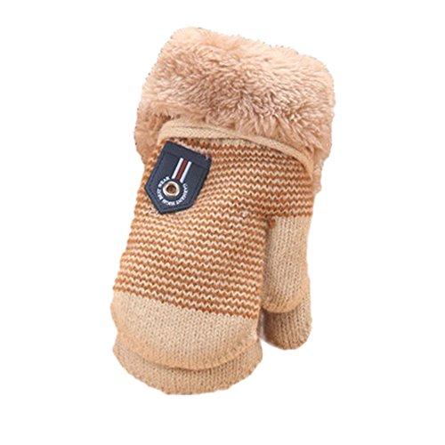 LuckyGirls Warme Handschuhe Baby Mädchen Jungen verdicken heiße Gestrickte - Ikea Halloween-dekoration