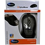 SK EnterprisesUSB 3D Wired Optical Mini Mouse For PC Laptop Computers Windows , Black