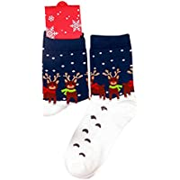 Demarkt Damen Weihnachtssocken Spaß Neuheit Cotton Socken Weihnachten Weihnachtsgeschenk preisvergleich bei billige-tabletten.eu
