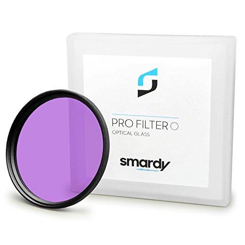 smardy FLD Filter 77 mm für Nikon D300S   D3S   D4   D800 - Canon EOS 5D Mark II - Sony Alpha 850   Alpha SLT-99V und weitere + High-Tech Microfaser Reinigungstuch