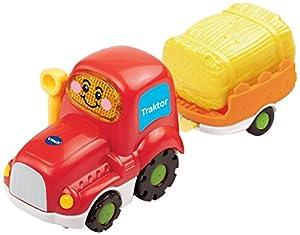 VTech - Tut Tut Flitzer Trailer Tractor (80-152304) (versión en alemán)