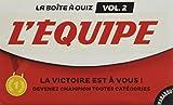 La boîte à quiz l 'Equipe - Volume 2: 500 nouvelles questions !