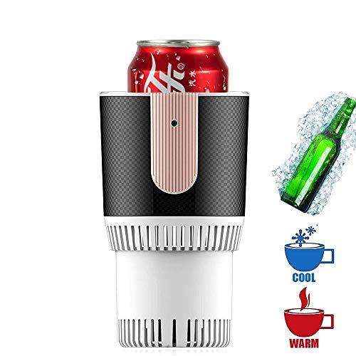FUTNTCTL 12 V Tragbare Mini Kühlschrank Elektrische Sommer Getränkekühler Wasserkocher Trinken Sofortige Kühlung Tasse Auto Kühler Gefrierschrank Getränke/Bier/Wein Kühler (Color : White)