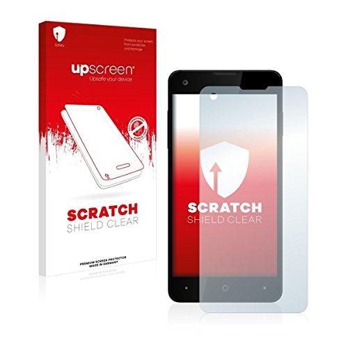 upscreen Scratch Shield Clear Bildschirmschutz Schutzfolie für Allview W1 i (hochtransparent, hoher Kratzschutz)