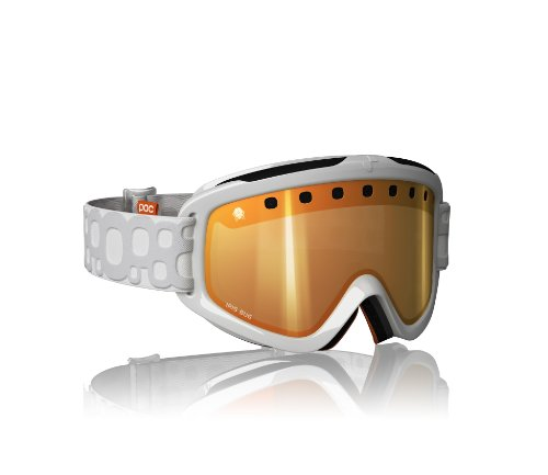 17c7d803fc Ganga POC Iris 3P - Gafas de esquí unisex, color blanco, talla Única ...