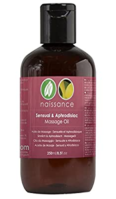 Naissance Sensual and Aphrodisiac Massage Oil - 250ml from Naissance