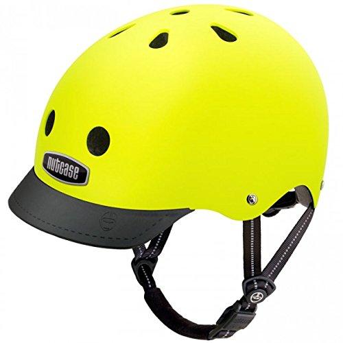 Nutcase - Street, Fahrradhelm für Erwachsene, Gelb (Gelb), Gr. M (56-60 cm)