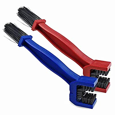 Motorcycle chain cleaning brush : everything £5 (or less!)