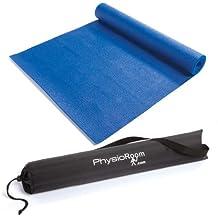 Esterilla Antideslizante PhysioRoom Para Yoga y Pilates - Colchoneta Tapete de Gimnasia Fitness con Bolsa de Transporte Incluida