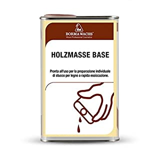 0,5 Liter Holzmasselösung (Holzkitt selber herstellen)